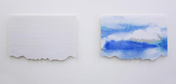 laliderer diptychon 2012, watercolour/ paper, 2 pcs. 42 x 62 cm