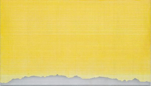 wetterstein3 2009, acrylic/ steel mesh, 78 x 138 cm